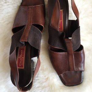 Cole Haan leather heeled sandals